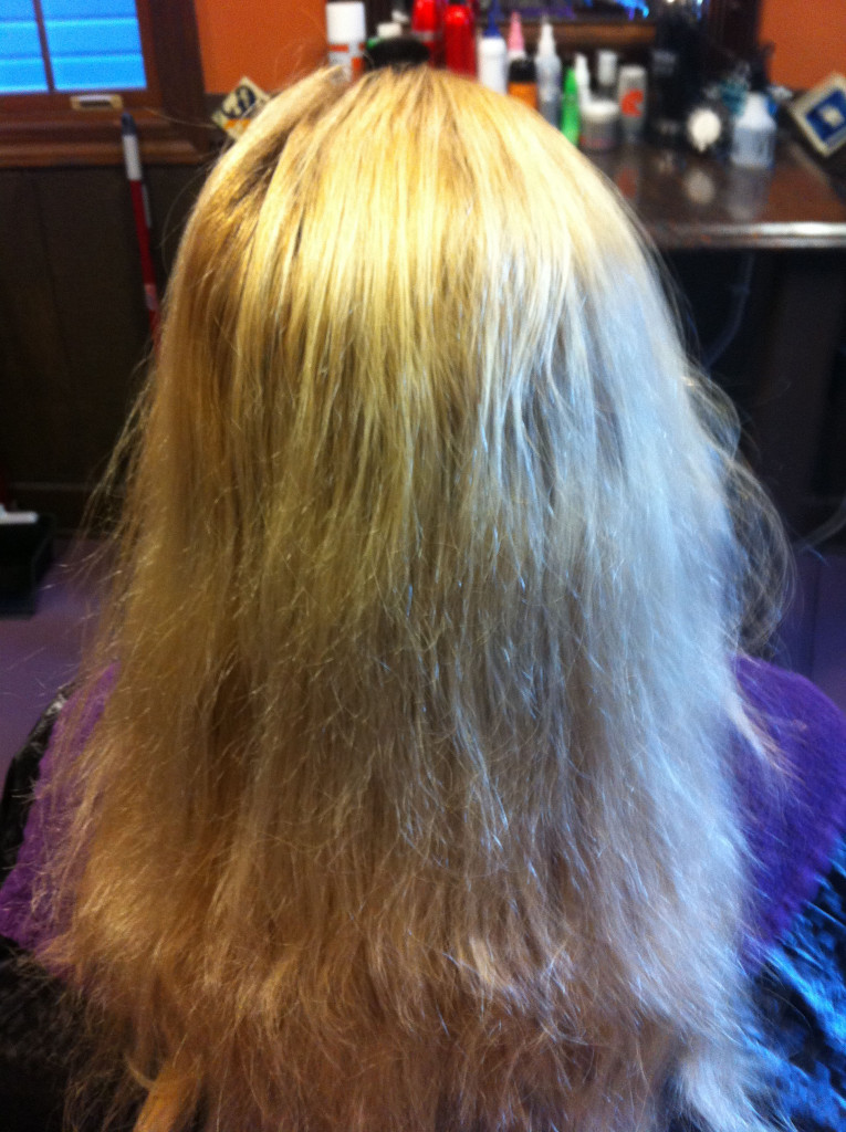 Before corrective color